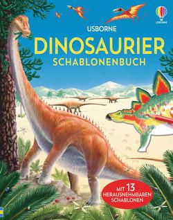 Dinosaurier Schablonenbuch von Kushii,  Tetsuo, Pearcey,  Alice