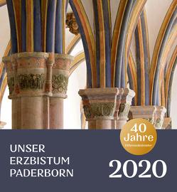 Diözesankalender 2020: Unser Erzbistum Paderborn von Bauer,  Heinz, Erzbischöfliches Generalvikariat Paderborn, Hoffmann,  Ansgar