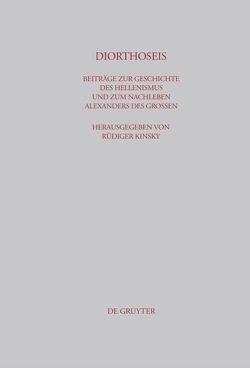 DIORTHOSEIS von Dobesch,  Gerhard, Kinsky,  Rüdiger, Lica,  Vasile, Schepens,  Guido, Wirth,  Gerhard, Zahrnt,  Michael
