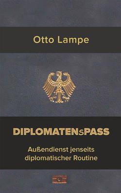 Diplomatenspass von Lampe,  Otto