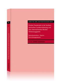 Direkte Demokratie in der liechtensteinischen Landesverfassung und dem österreichischen Bundes-Verfassungsgesetz von Geisselmann,  Christian