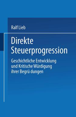 Direkte Steuerprogression von Lieb,  Ralf