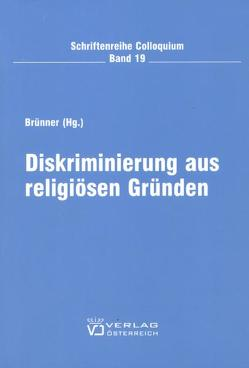 Diskriminierung aus religiösen Gründen von Brünner,  Christian