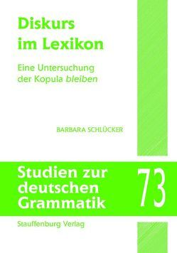 Diskurs im Lexikon von Schlücker,  Barbara
