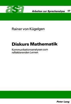 Diskurs Mathematik von von Kügelgen,  Rainer