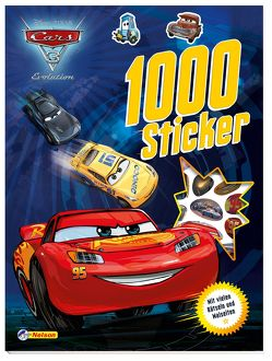 Disney Cars 3: 1000 Sticker