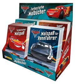 Disney Cars 3: Malbücher Display