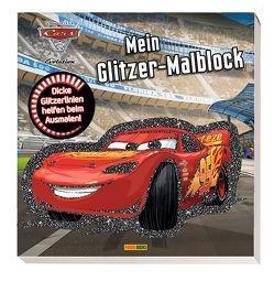 Disney Cars 3: Mein Glitzer-Malblock von Hoffart,  Nicole, Wöhrmann,  Ruth