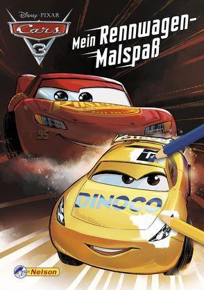 Disney Cars 3: Mein Rennwagen-Malspaß