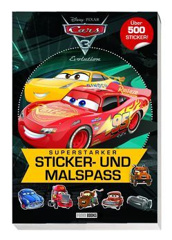 Disney Cars 3: Superstarker Sticker- und Malspaß