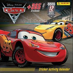 Disney Cars: Sticker-Activity-Kalender