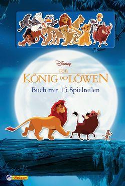 Disney Der König der Löwen: Die Geschichte von Simba (Buch mit 15 Spielteilen)