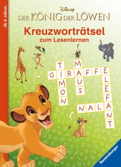 Disney Der König der Löwen: Kreuzworträtsel zum Lesenlernen von The Walt Disney Company