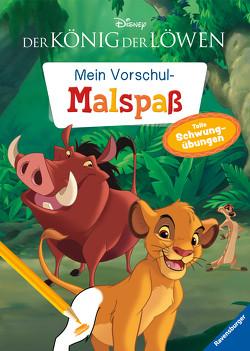 Disney Der König der Löwen: Mein Vorschulmalspaß. Tolle Schwungübungen von The Walt Disney Company