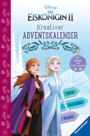 Disney Die Eiskönigin 2: Kreativer Adventskalender (Rätsel/Fakten)