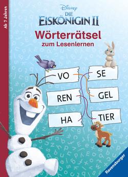 Disney Die Eiskönigin 2: Wörterrätsel zum Lesenlernen von Johannsen,  Anne, The Walt Disney Company
