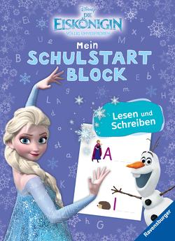 Disney Die Eiskönigin Mein bunter Schulstartblock: Lesen und Schreiben von The Walt Disney Company