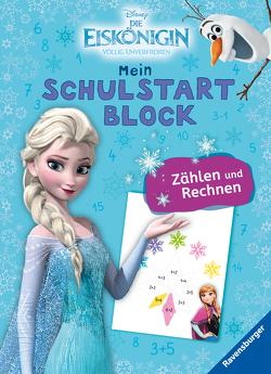 Disney Die Eiskönigin Mein bunter Schulstartblock: Zählen und Rechnen von The Walt Disney Company