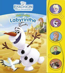 Disney Die Eiskönigin – Olaf – Labyrinth-Soundbuch
