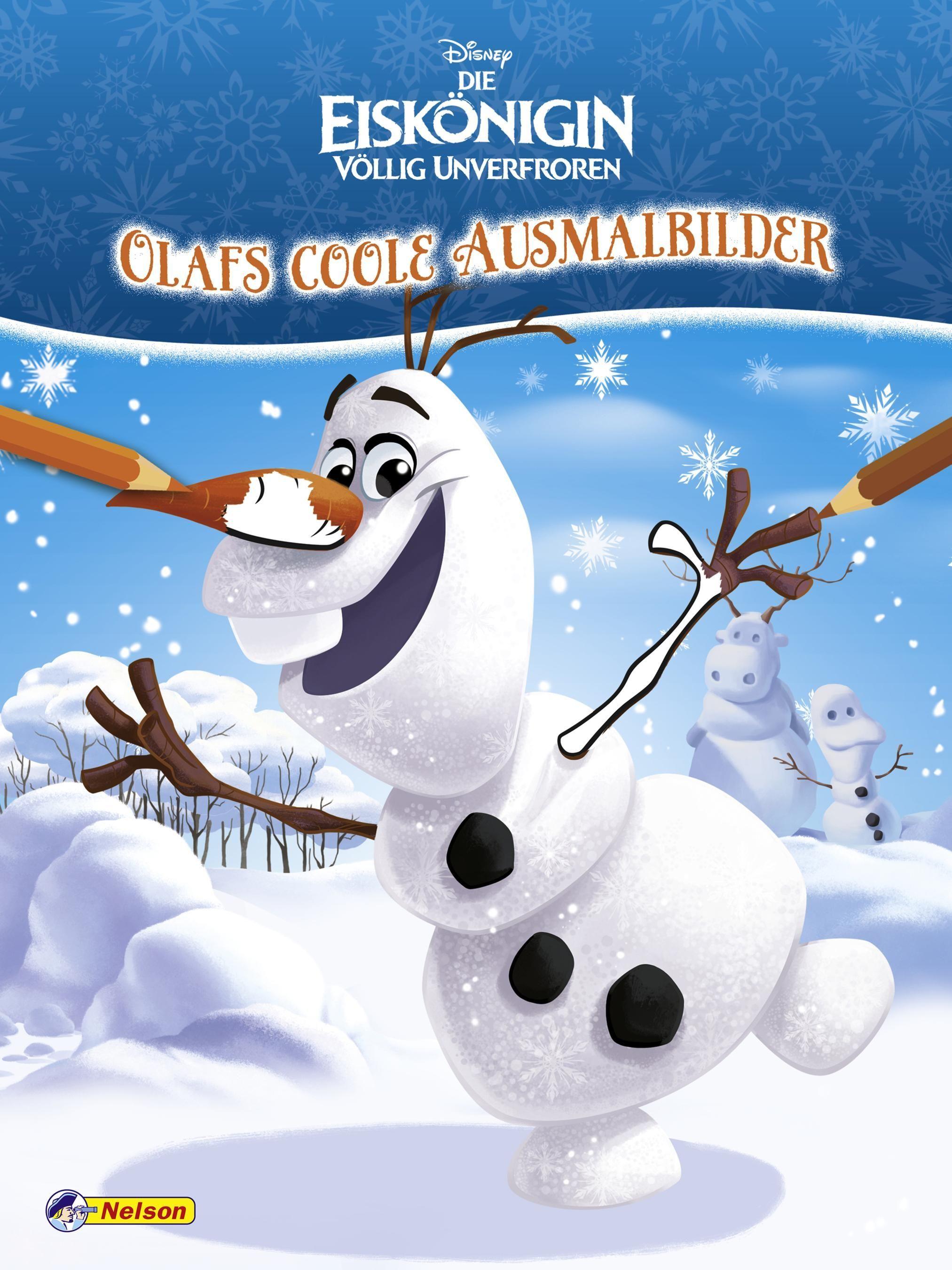 Disney Die Eiskönigin: Olafs coole Ausmalbilder von :