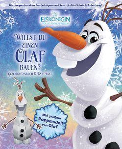 Disney Die Eiskönigin: Willst du einen Olaf bauen? von Buchmüller,  Rainer, Scollon,  Bill, Team der Disney-Storybook-Künstler