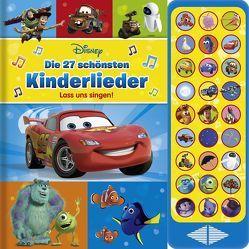 Disney – Die schönsten Kinderlieder – lass uns singen!, 27 Kinder- und Gutenachtlieder zum Mitsingen – mit Notensatz