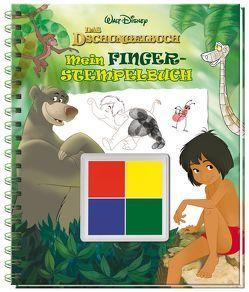 Disney Dschungelbuch Mein Fingerstempelbuch
