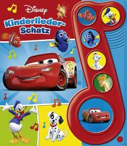 Disney – Kinderliederschatz – Liederbuch mit Sound: Pappbilderbuch mit 6 Melodien