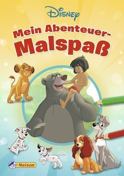 Disney Klassiker: Mein Abenteuer-Malspaß