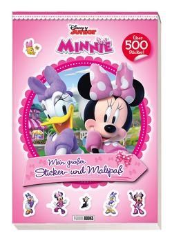 Disney Minnie: Mein großer Sticker- und Malspaß