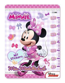 Disney Minnie: Mein Messlattenbuch