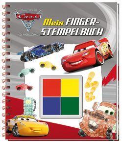 Disney Pixar Cars 3 Mein Fingerstempelbuch