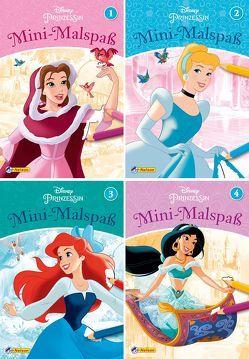 Disney Prinzessin: 4er Mini-Malspaß