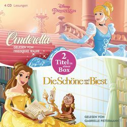 Disney Prinzessin: Die Schöne und das Biest – Cinderella von Albrecht,  Anke, Beckerath,  Regina, Pietermann,  Gabrielle, Walke,  Friederike
