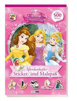 Disney Prinzessin: Märchenhafter Sticker- und Malspaß von Hoffart,  Nicole, Rauch,  Eva-Regine