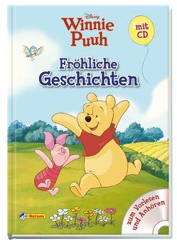 Disney Winnie Puuh: Fröhliche Geschichten mit CD von Disney Enterprises,  Inc.,  Inc.