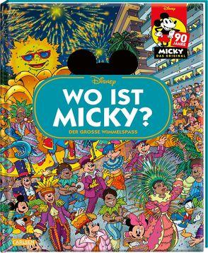 Disney: Wo ist Micky? von Disney,  Walt