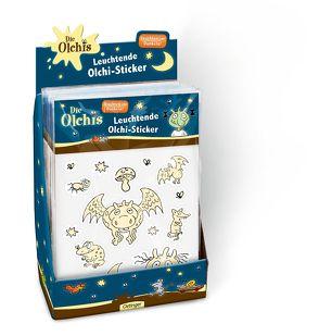 Display Die Olchis Leuchtende Olchi-Sticker von Dietl,  Erhard
