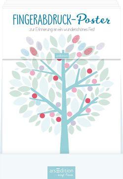 Display Fingerabdruck-Poster Zur Kommunion von Teckentrup,  Britta