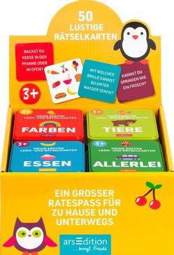 Display Meine ersten Lern- und Rätselkarten von Gerbrands,  Anneke