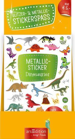 Display Metallic- und Glitzerspaß-Sticker