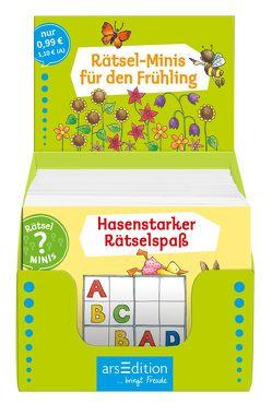Display Rätsel-Minis Frühling