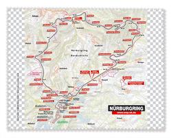 Display- und Brillentuch Nürburgring von garant Verlag GmbH