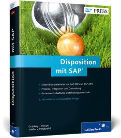 Disposition mit SAP von Gulyássy,  Ferenc, Hoppe,  Marc, Köhler,  Oliver, Vithayathil,  Binoy