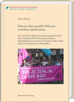 Dissense über sexuelle Differenz in Serbien und Kroatien von Mlinaric,  Martin