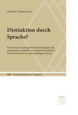 Distinktion durch Sprache? von Zimmermann,  Martina