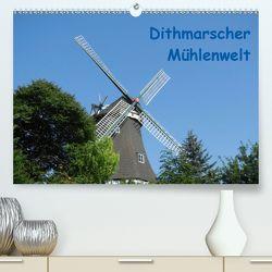 Dithmarscher Mühlenwelt (Premium, hochwertiger DIN A2 Wandkalender 2020, Kunstdruck in Hochglanz) von Fehske-Egbers,  Iris
