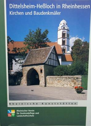Dittelsheim in Rheinhessen und seine evangelische Kirche von Wiemer,  Karl P, Wulfert,  Heiko