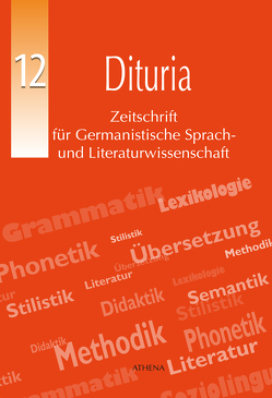 Dituria Ausgabe 12 von de Matteis,  Mario, Kadzadej-Zavalani,  Brikena, Riecke,  Jörg, Röhling,  Jürgen