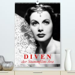 Diven der Stummfilm-Ära (Premium, hochwertiger DIN A2 Wandkalender 2021, Kunstdruck in Hochglanz) von Stanzer,  Elisabeth